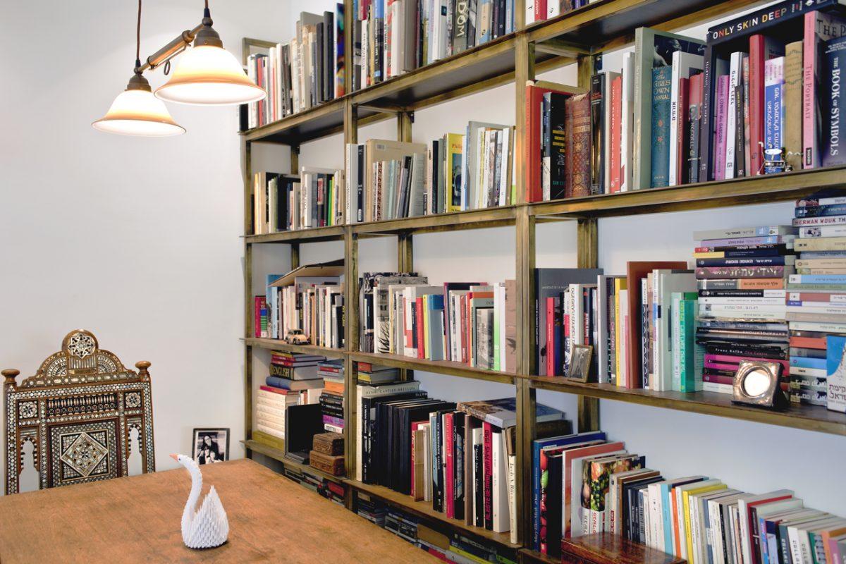 ספריית ספרים לסלון