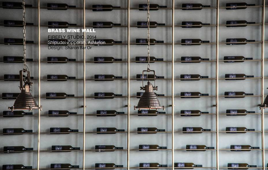 עיצוב ספריות לחדר יין