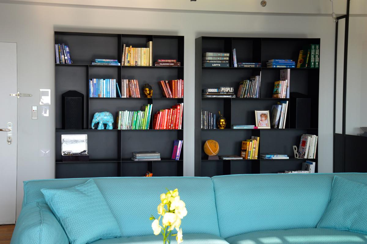 ספריות לסלון מעוצבות בהתאמה אישית