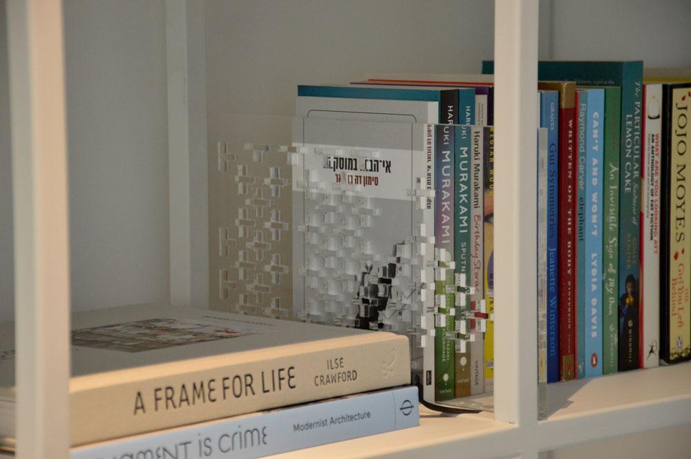 עיצוב ספריה לפי מידות