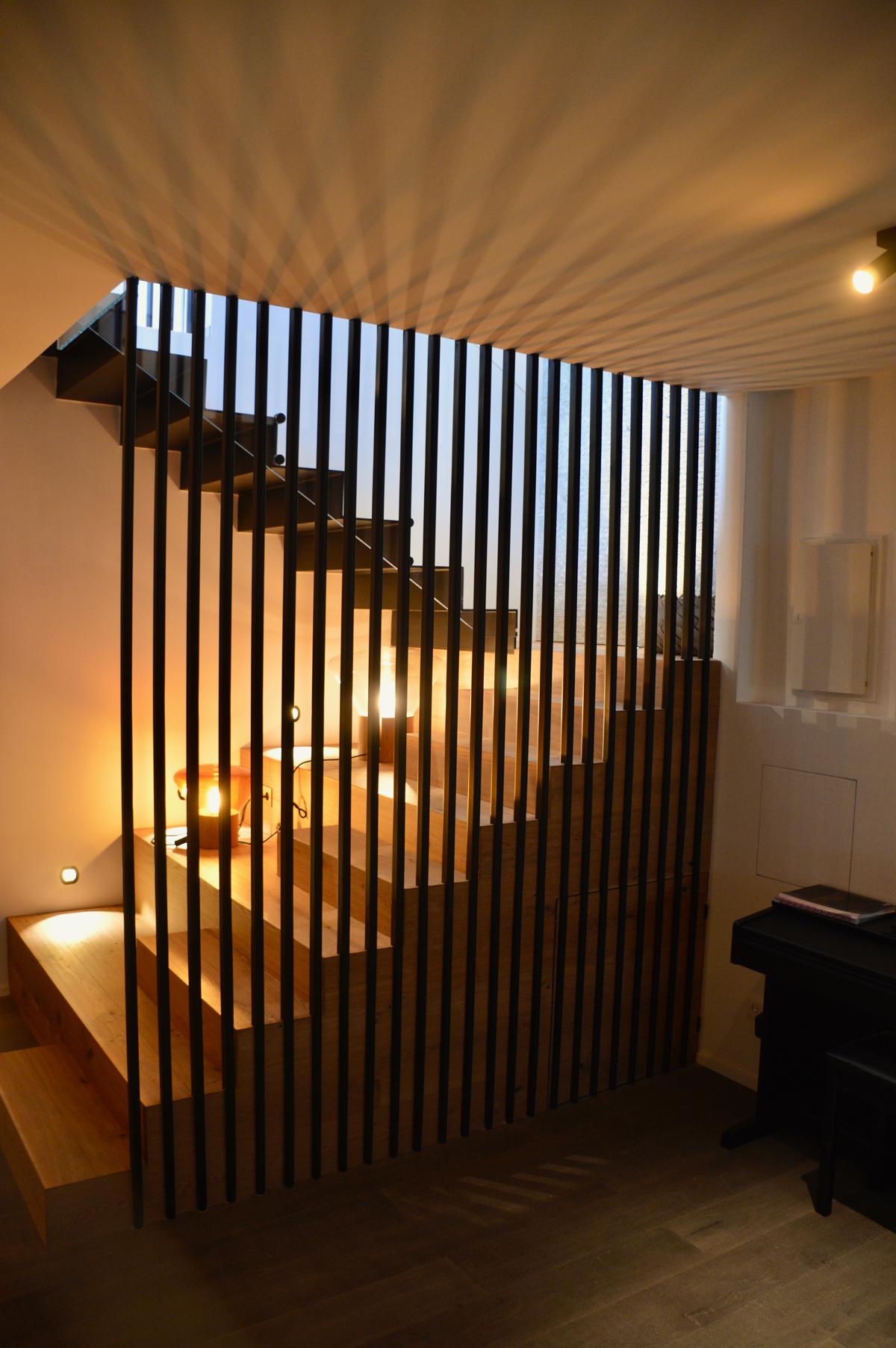 עיצוב גרם מדרגות בהתאמה אישית